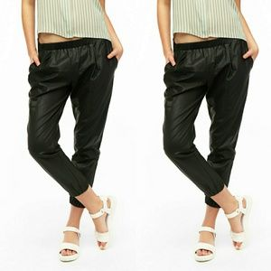 Sparkle & Fade by UO Faux Leather Pants   Small